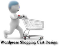 WordPress shopping cart design